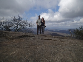 On top of Blood Mt.