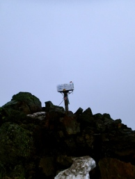 There is the mailbox at the top of Mailbox Peak. I wonder who the lucky mail man is...