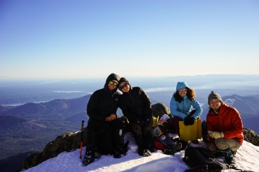 This was our summit.
